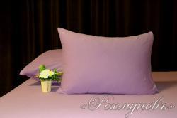 Купить лиловые трикотажные наволочки на молнии в Краснодаре