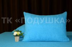 Купить голубые махровые наволочки на молнии в Краснодаре