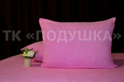 Купить розовые махровые наволочки на молнии в Краснодаре