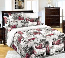 Купить постельное белье из бязи «Лондон 1» в Краснодаре
