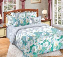 Купить постельное белье из бязи «Ода любви» в Краснодаре