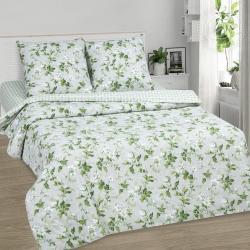 """Купить постельное белье из поплина """"Белый сад""""  в Краснодаре"""
